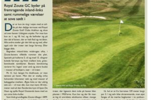 RZGC covered in Danish Golf magazine